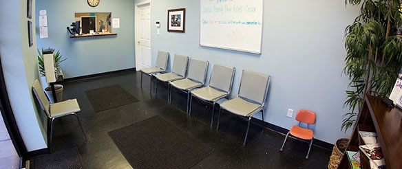 NCPR office waiting room