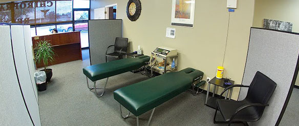 NCPR chiropractor therapy area